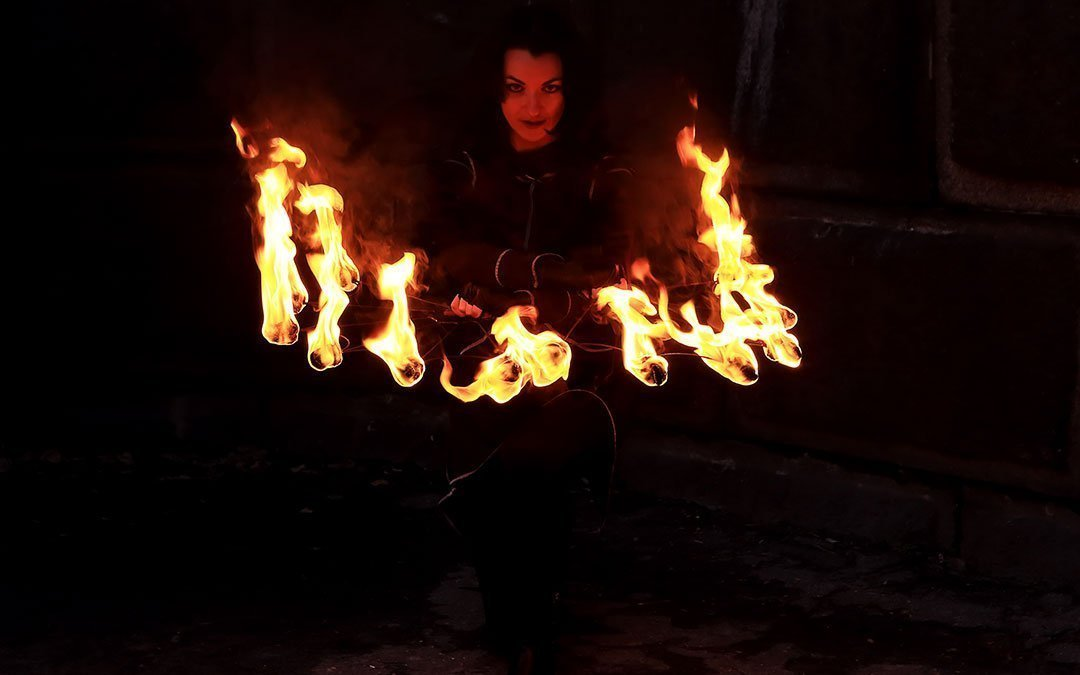 Cthulhu Unleashes Solstice Fireworks Display Over Devil's Backbone