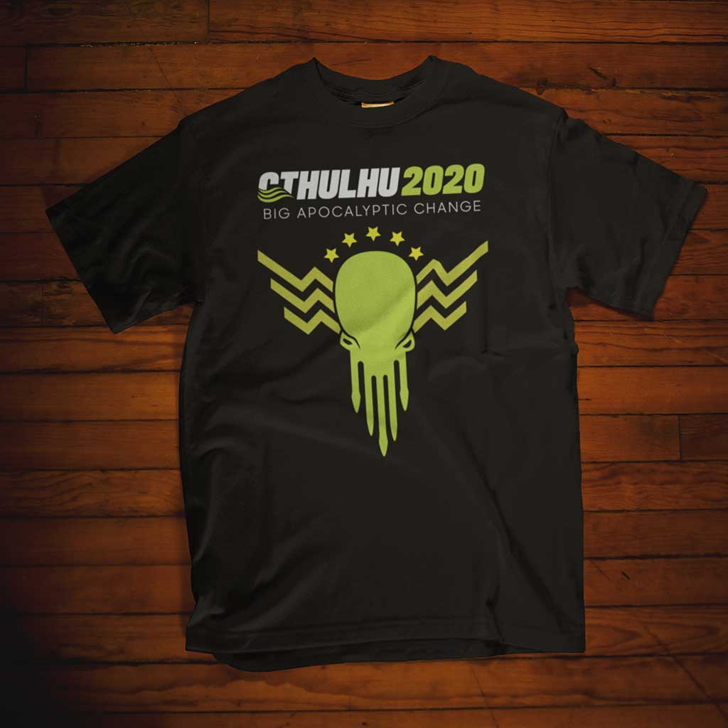 The Cthulhu for President Supporter Unisex Tee