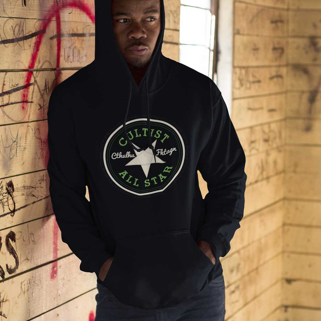 Cthulhu Cultist All Star Hoodie Pullover