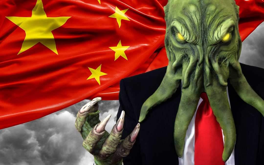 Cthulhu Abandons America, Chooses China