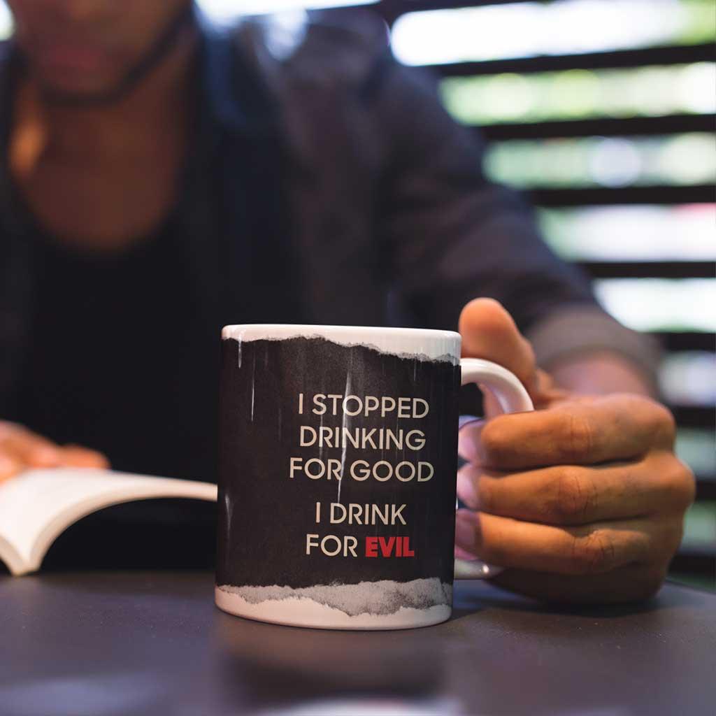 Cultist All Star Drink for Evil Coffee Mug