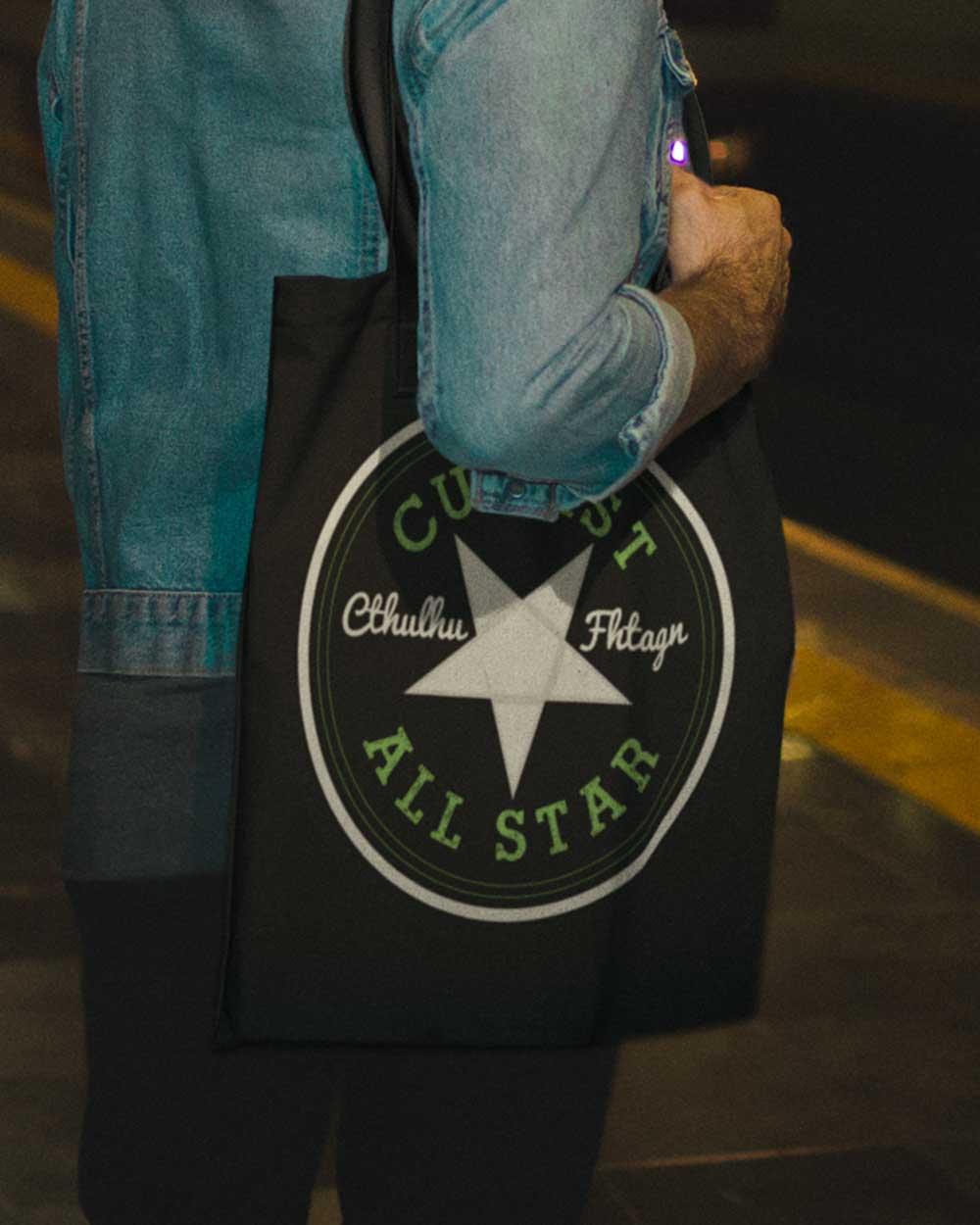 Cultist All-Star Tote bag  6e0e5768fcb3a