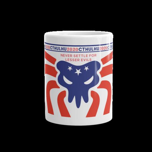 Cthulhu Patriot Mug 11 oz - front view