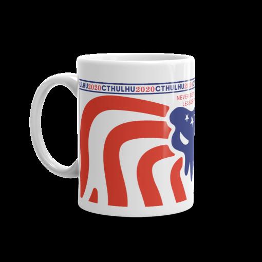 Cthulhu Patriot Mug 11 oz - left view