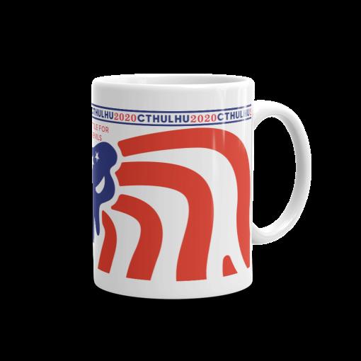 Cthulhu Patriot Mug 11 oz - right view