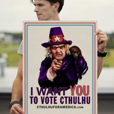 Aunt Keziah: Vote Cthulhu Poster 18x24