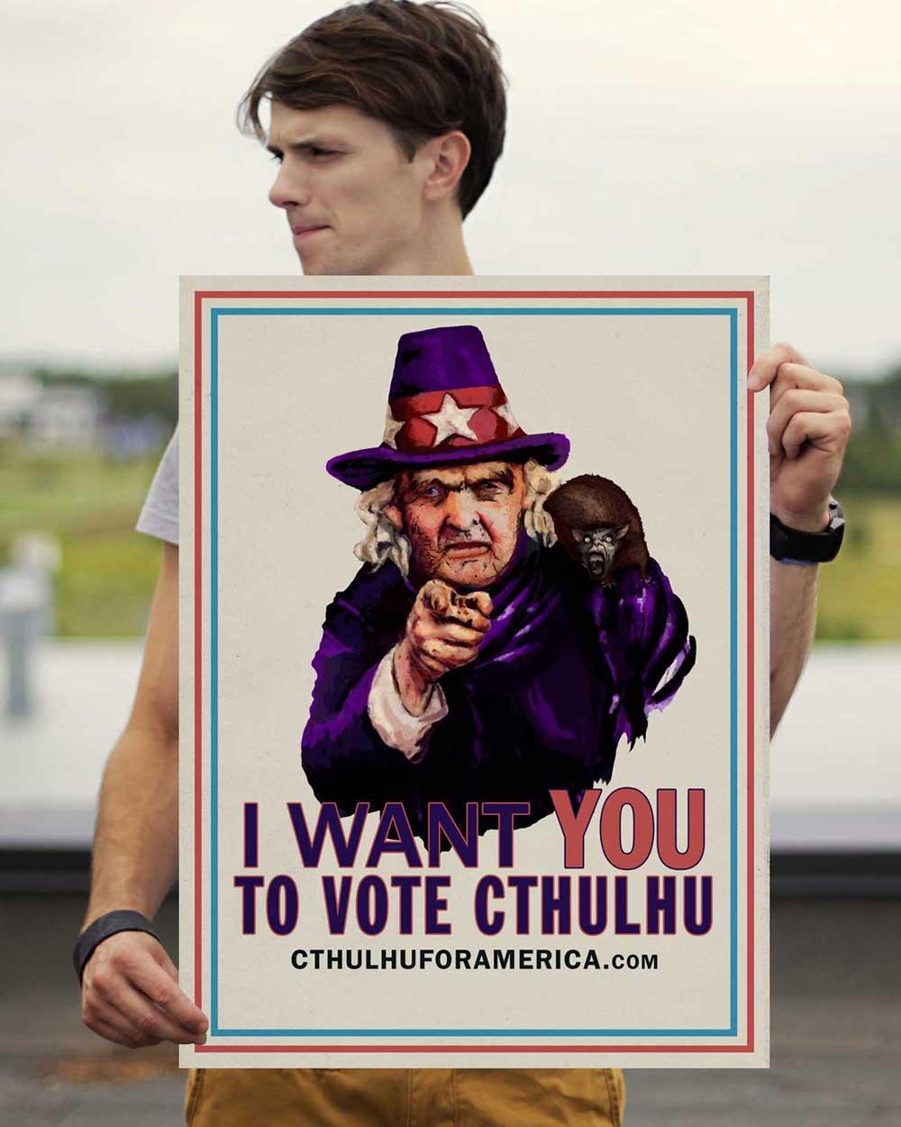 Aunt Keziah: Vote Cthulhu Poster 18x24